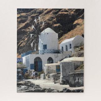 Griechenland-Windmühlen-Puzzlespiel Puzzle