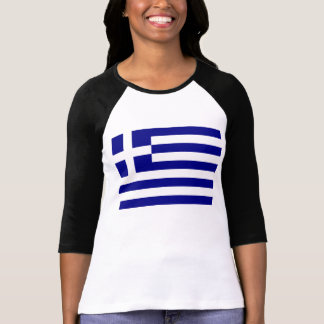 Griechische Flagge T-Shirt