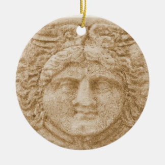 Griechischer Gott HERMES Keramik Ornament