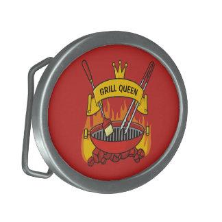 Grill-Königin Ovale Gürtelschnallen