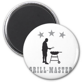 grill master runder magnet 5,1 cm