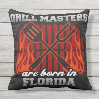 Grill-Meister sind in Florida geboren Kissen