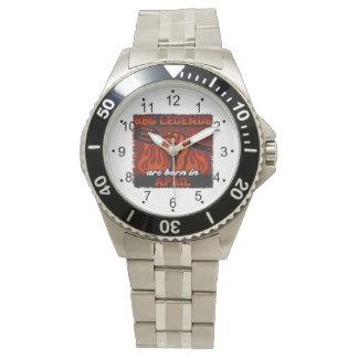 GRILLEN Legenden sind im April geboren Armbanduhr