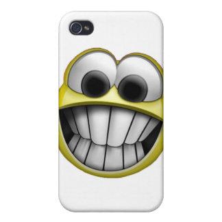 Grinsender glücklicher Smiley I iPhone 4/4S Cover