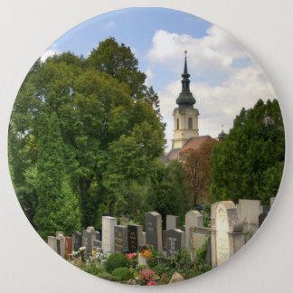Grinzinger Friedhof, Wien Österreich Runder Button 15,3 Cm
