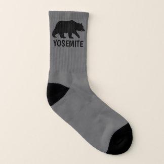 Grizzly-Bärn-Silhouetten mit kundenspezifischem Socken