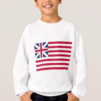 Großartige Gewerkschafts-Flaggen-kontinentale Sweatshirt