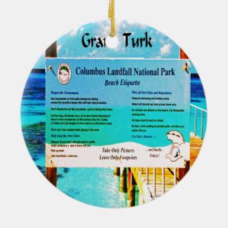 Großartiger Türke Keramik Ornament