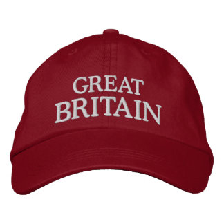 Großbritannien stickte Hut Bestickte Mützen