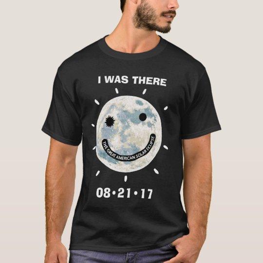 Große amerikanische Sonnenfinsternis war ich dort T-Shirt