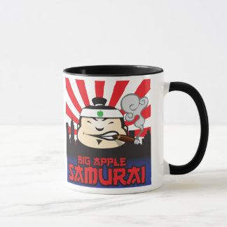 Große Apple-Samurais Tasse