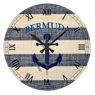 Große Bermuda-Uhr! Große Wanduhr
