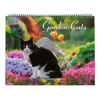 Größe der Garten-Katzen 2017 groß Abreißkalender