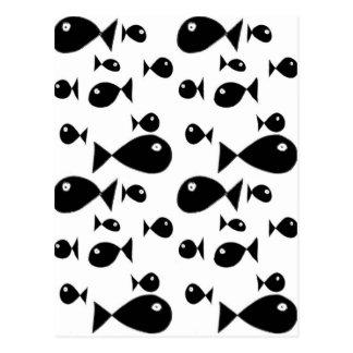Große Fische Postkarten