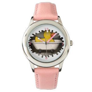 Große Gummientenuhr Armbanduhr