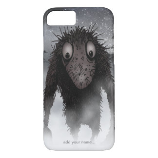 Große haarige Monster-Schleppangel iPhone 8/7 Hülle