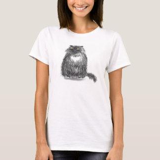Große Katze T T-Shirt