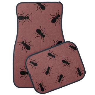Große schwarze Matten Ameisen Pest Control Van Autofußmatte