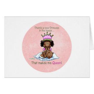Große Schwester - Königin der kleinen Schwester - Karte