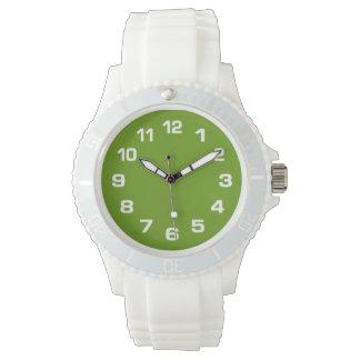 Große Skala auf IRGENDWELCHEN Farbuhren Armbanduhr