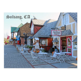 Große Solvang Postkarte! Postkarte