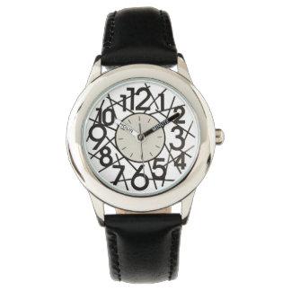 Große Zahl-Uhr Handuhr