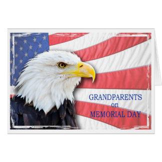 Großeltern, Volkstrauertag, mit einem Grußkarte