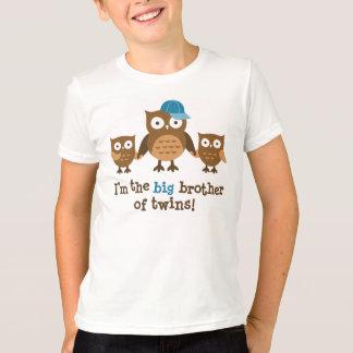 Großer Bruder der Zwillinge - Mod-Eulen-T - Shirts