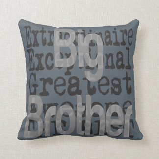 Großer Bruder Extraordinaire Kissen