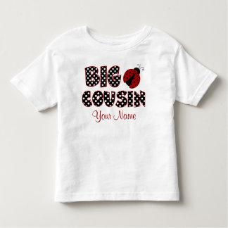 Großer Cousin-Marienkäfer-personalisiertes Shirt
