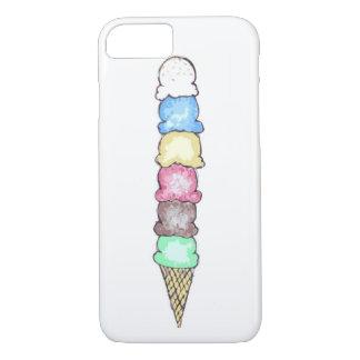 Großer Eistüte-Telefon-Kasten iPhone 8/7 Hülle