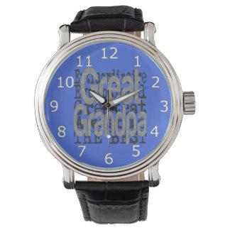 Großer Großvater Extraordinaire Armbanduhr