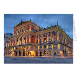 Großer Hall der Dackel Musikverein, Wien, Karte