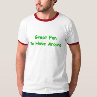Großer herum zu habender Spaß T-Shirt