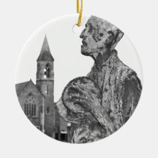 Großer Hunger von Irland-Statuen in Dublin Keramik Ornament