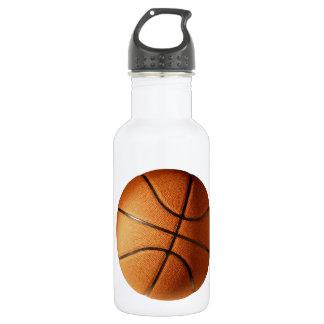 Großer Leuchtorange-Basketball, Trinkflasche