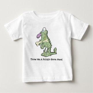 Großer lila Nasen-Dinosaurier-Baby-Jersey-T - Baby T-shirt