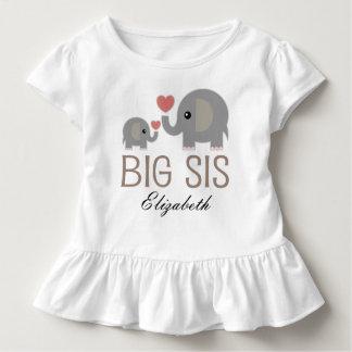 Großer SIS-Mädchen-niedlicher Kleinkind T-shirt