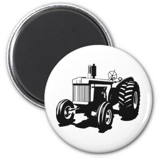 Großer Traktor Runder Magnet 5,1 Cm