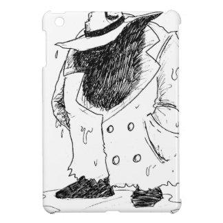 Großer Typ im trenchcoat Hüllen Für iPad Mini
