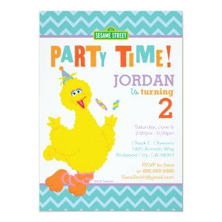 Großer Vogel-Geburtstag 12,7 X 17,8 Cm Einladungskarte