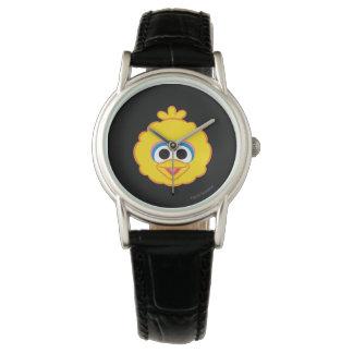 Großer Vogel-lächelndes Gesicht Uhr