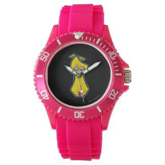 Großer Vogel-Zombie Armbanduhr