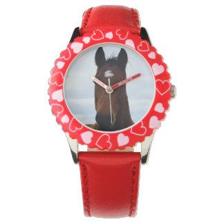 Großes ausgezeichnetes Pferd Browns, Armbanduhr