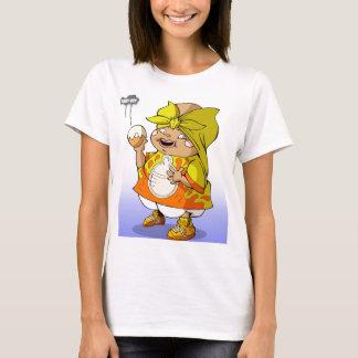 Großes Fett angesagtes Hopfen des Babys T-Shirt