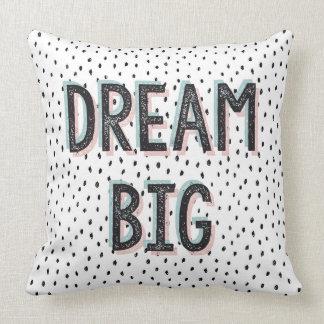 Großes inspirierend Zitat-Stellen-Traumkissen Kissen