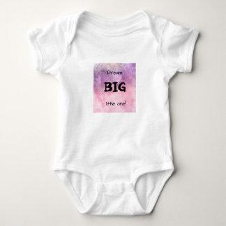 GROSSES kleines Traum! Schöner kosmischer rosa Baby Strampler