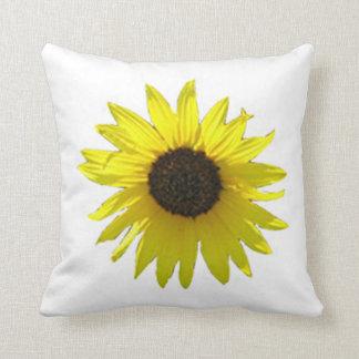 Großes Sonnenblume-Kissen Kissen