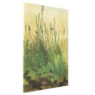 Großes Stück Rasen durch Albrecht Durer, Vintage Leinwanddruck
