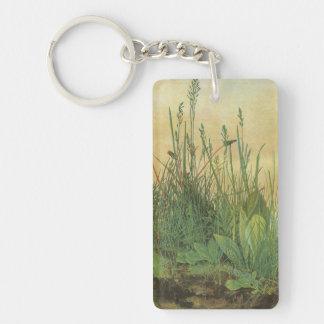 Großes Stück Rasen durch Albrecht Durer, Vintage Schlüsselanhänger